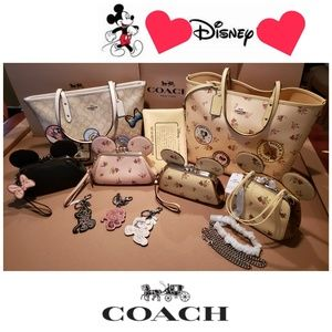 Check out my Coach x Disney section :)